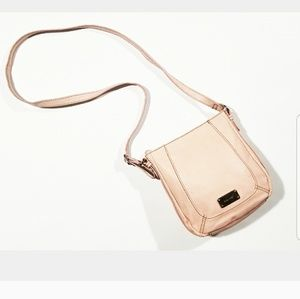 Nine West Soft Peach Shoulder Crossbody Purse Bag